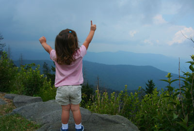 Willow Rutter at Clingman's Dome