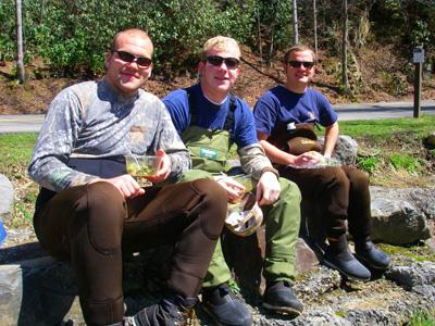 Auburn spring break crew