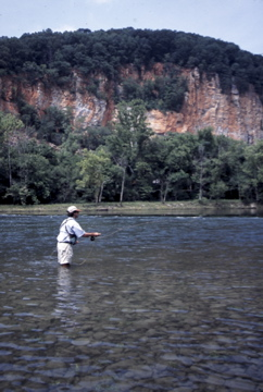Ian Rutter Fly Fishing on Tennessee's Holston River tailwater