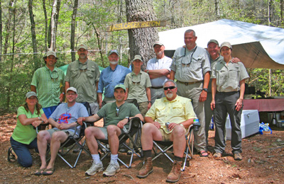 Hazel Creek crew from Spring 2009
