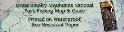 Great Smoky Mtn Fly Fishing Map
