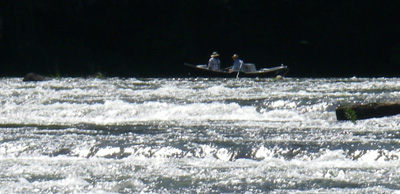 Only experienced oarsmen should attempt to float the Hiwassee