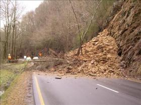 This photo of Hwy 441 was on www.wbir.com