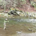 Video Fishing Report – Winter Fishing in the Smokies and East Tennessee