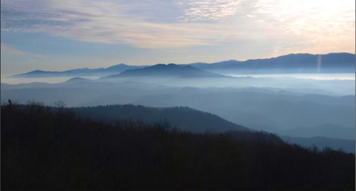 Misty Morning in the Smoky Mountains