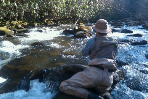 A day for dry flies r and r fly fishing for Fly fishing chattanooga