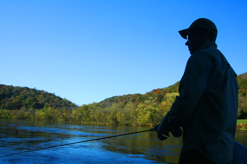 Fall float on the Clinch River