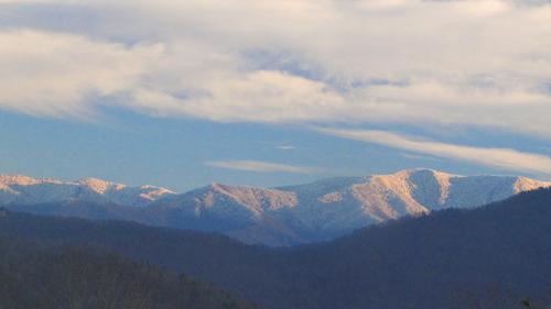 Snow on Rocky Top