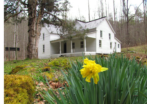 Woody House on Rough Fork in Cataloochee Valley