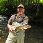 A nice Smokies brown trout