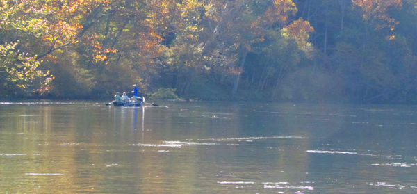 Drift Boat on the Clinch River