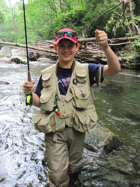 Luke's second day fish