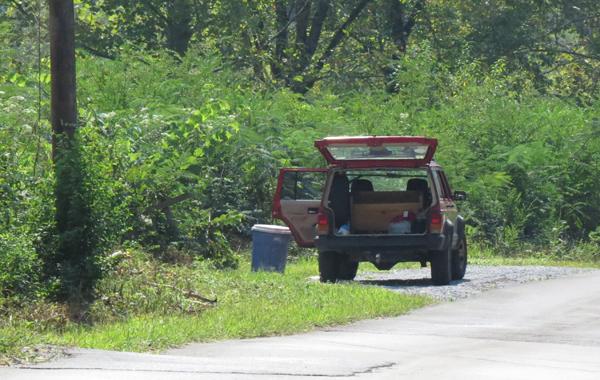 Jeep Abandoned