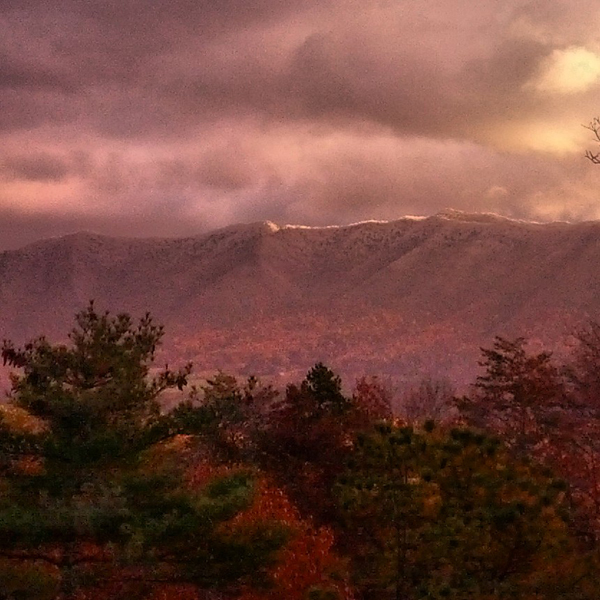 Autumn Snow on Rich Mountain
