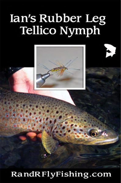 Rubber Leg Tellico Nymph Cover