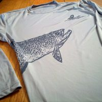 Rising Trout Wrap Around Long Sleeve