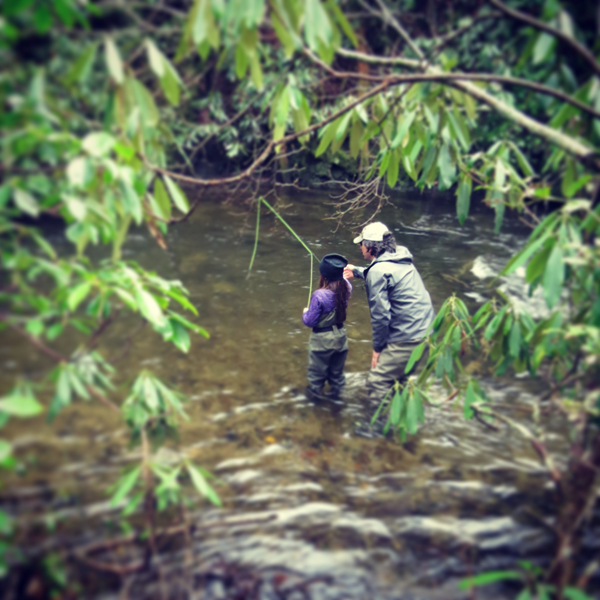Father Daughter Fly Fishing