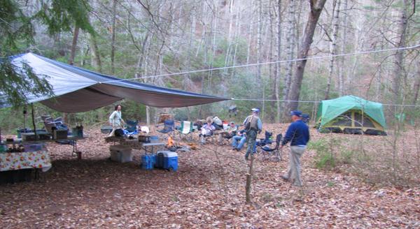Hazel Creek Camp April 2014