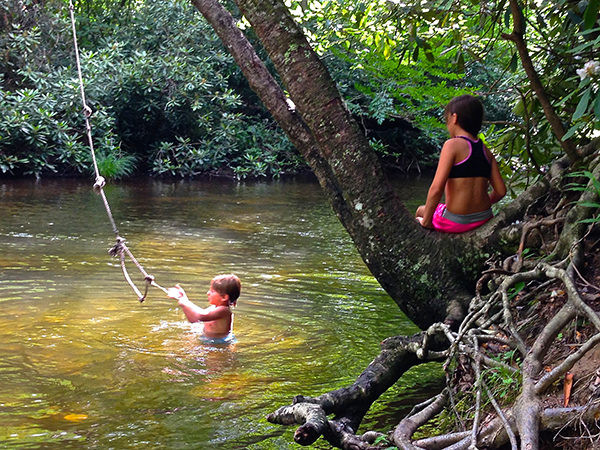 You can do more than fish in a Smoky Mountain stream