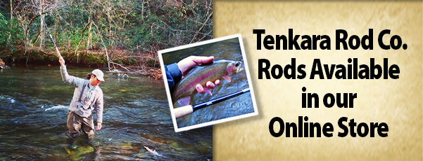 Tenkara Rods Available
