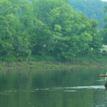 Unusually High Water for August in East Tennessee and the Smoky Mountains