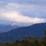 First Dusting of Snow in the Smokies
